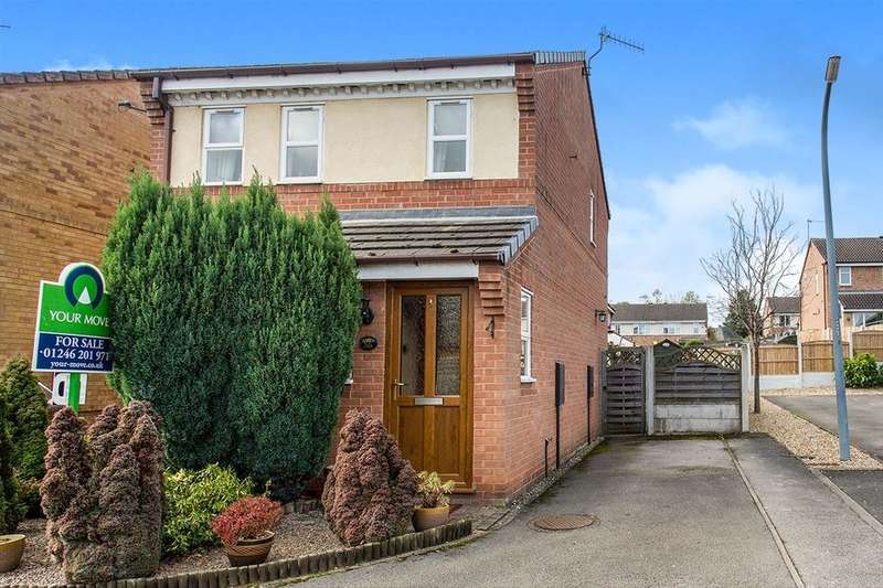 3 Bedrooms Detached House for sale in Lilac Street, Hollingwood, Chesterfield, S43