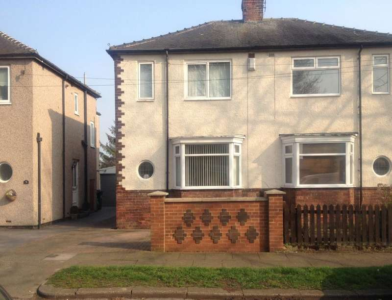 3 Bedrooms Semi Detached House for sale in Saltersgate Road, Darlington, DL1
