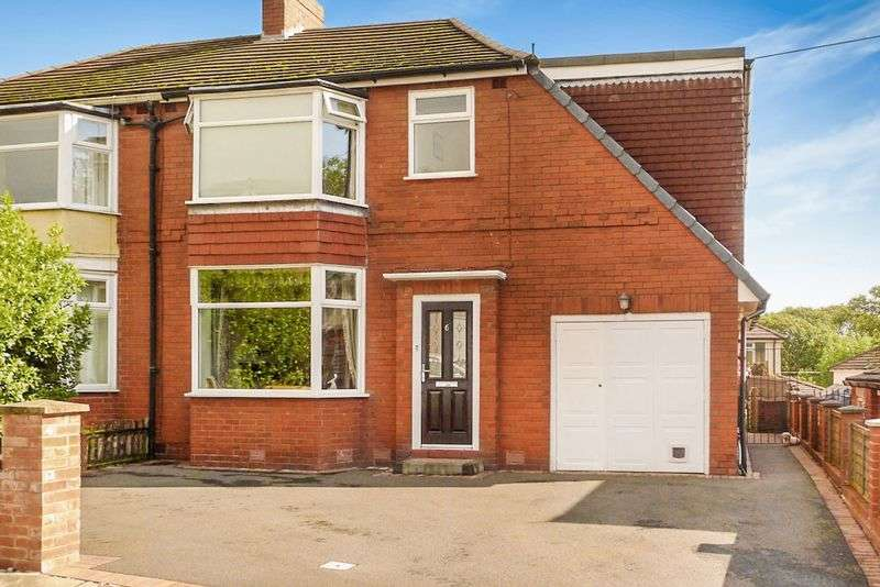 4 Bedrooms Semi Detached House for sale in Louvaine Avenue, Barrow Bridge, Bolton
