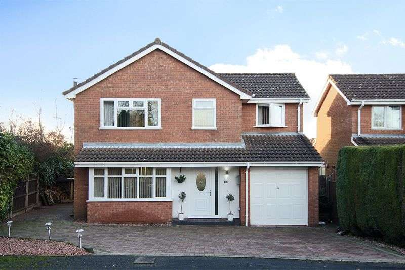 4 Bedrooms Detached House for sale in St Christopher Close, Rawnsley