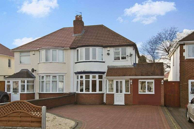 3 Bedrooms Semi Detached House for sale in Elm Avenue, Wednesfield, Wolverhampton