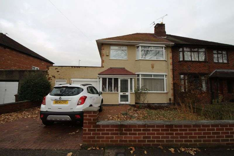 3 Bedrooms Semi Detached House for sale in Queensbury Avenue, Wirral