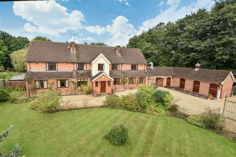 6 Bedrooms Detached House for sale in Crawley Hill, West Wellow, Romsey, SO51