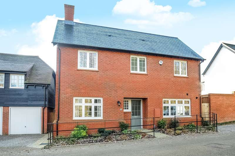 5 Bedrooms Detached House for sale in Meadow View, Winchester, SO23
