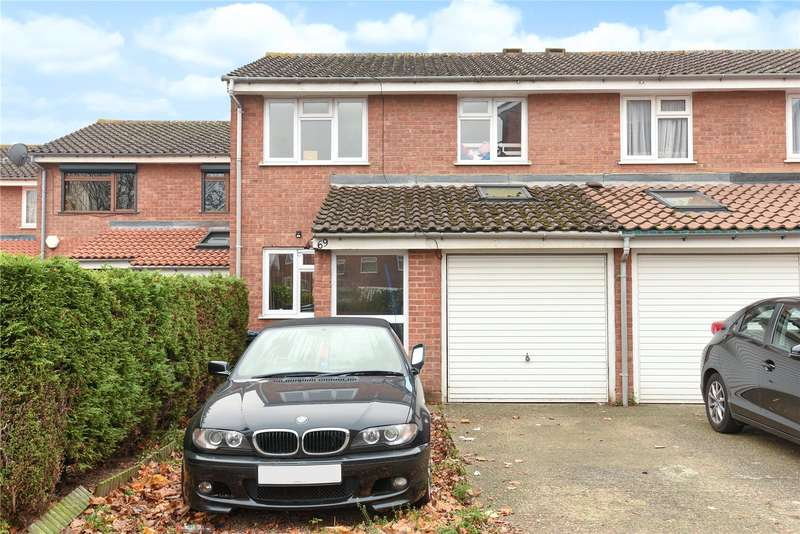 3 Bedrooms Semi Detached House for sale in Huxley Close, Northolt, Middlesex, UB5