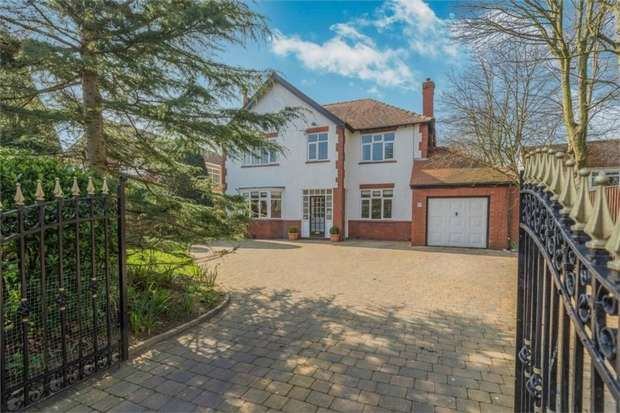 5 Bedrooms Detached House for sale in West Lane, Formby, Liverpool, Merseyside