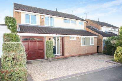 4 Bedrooms Detached House for sale in Wentworth Road, Fleckney, Leicester, Leicestershire