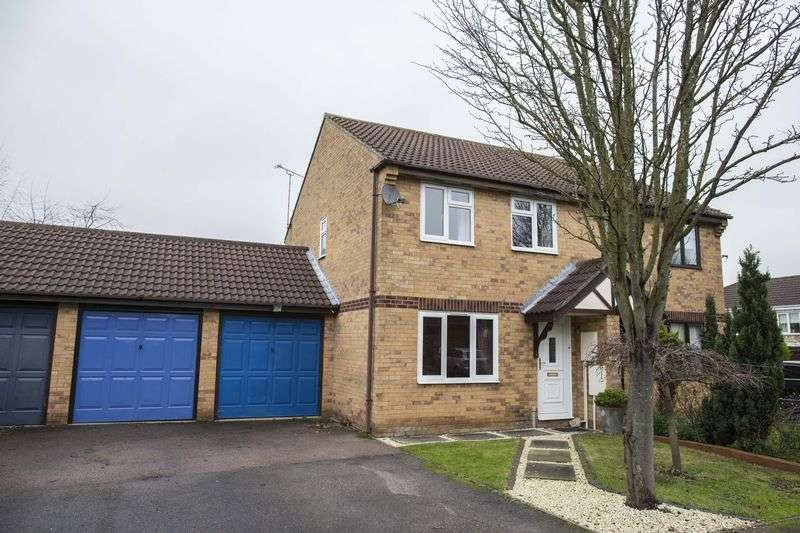 3 Bedrooms Semi Detached House for sale in Rowan Drive, Bury St. Edmunds