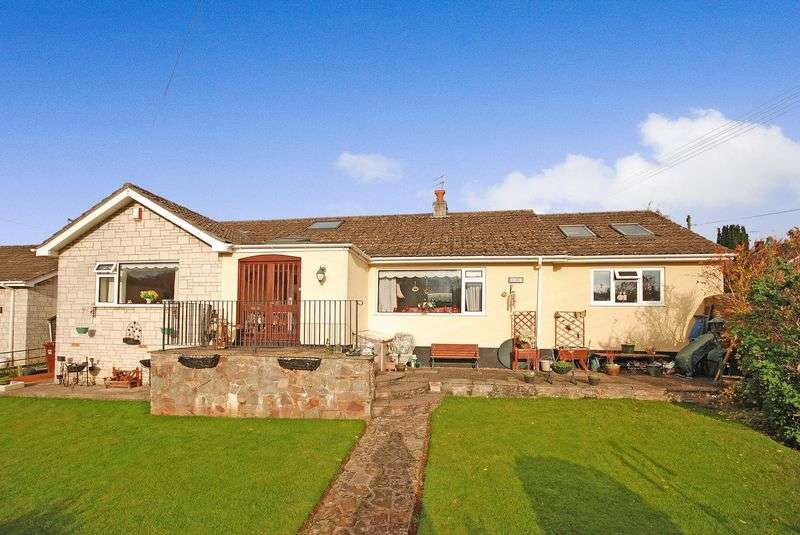 4 Bedrooms Detached Bungalow for sale in Croscombe - Between Wells and Shepton Mallet