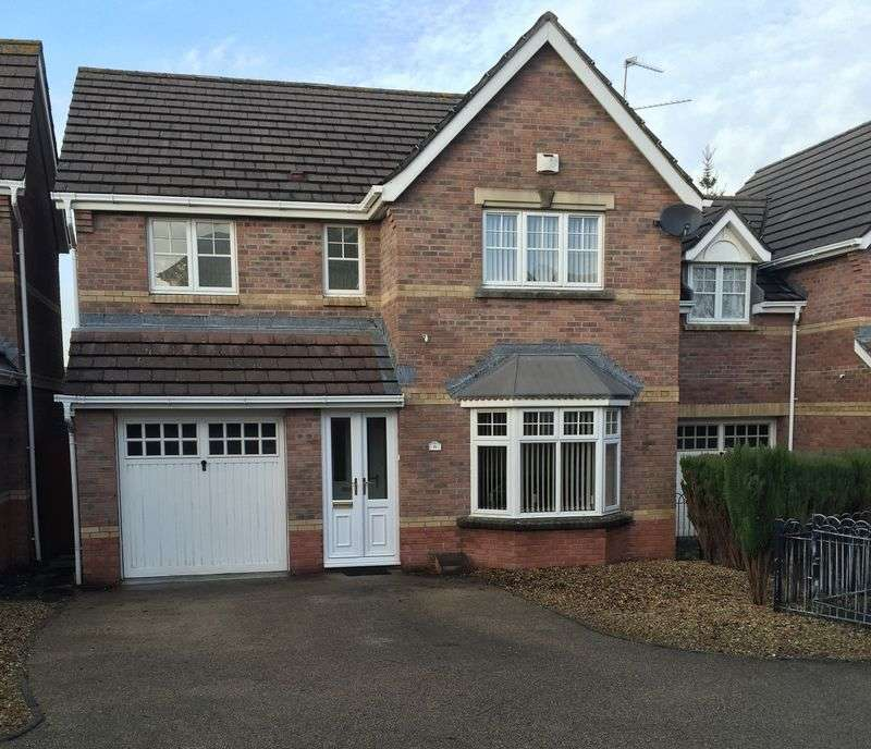 4 Bedrooms Detached House for sale in Clos Cwm Barri, Barry