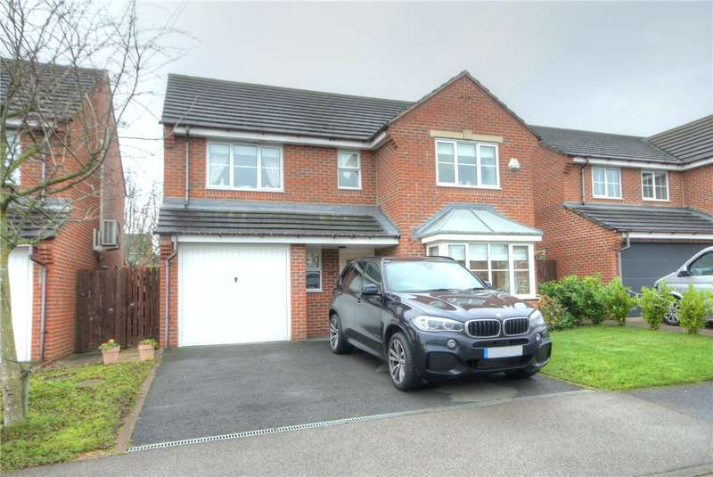 4 Bedrooms Detached House for sale in Magnolia Close, School Aycliffe, Co Durham, DL5