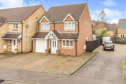 4 Bedrooms Detached House for sale in Wensum Road, Stevenage, Hertfordshire, England