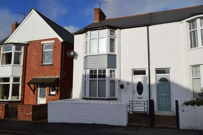 3 Bedrooms Semi Detached House for sale in Danby Terrace, Exmouth