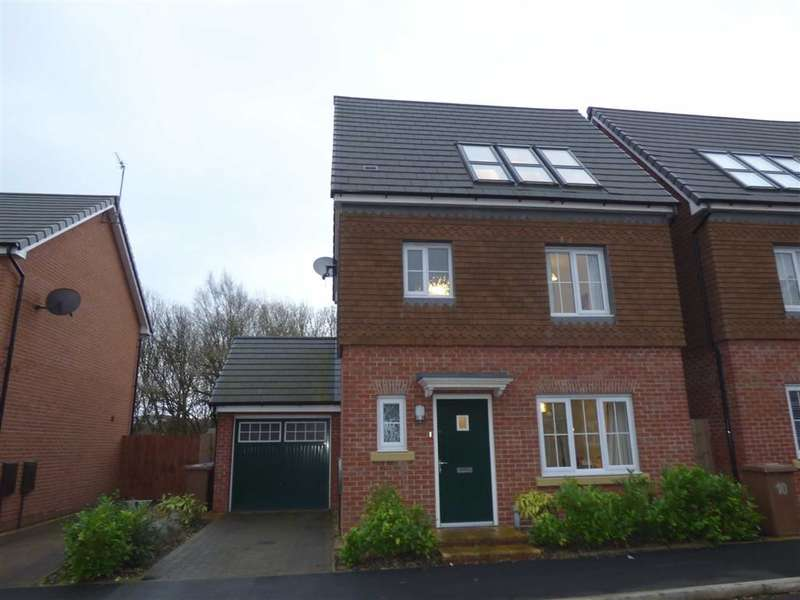 4 Bedrooms Property for sale in Shuttle Drive, HEYWOOD, Lancashire, OL10