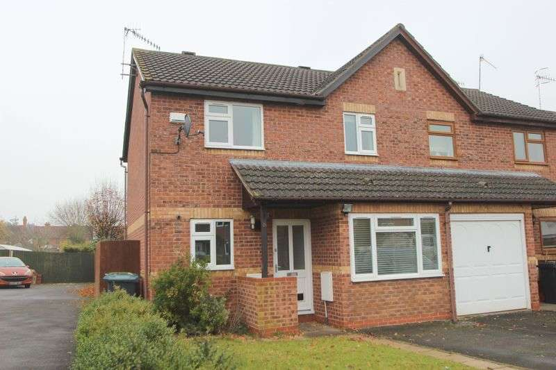 3 Bedrooms Semi Detached House for sale in Scott Close, Bidford on Avon
