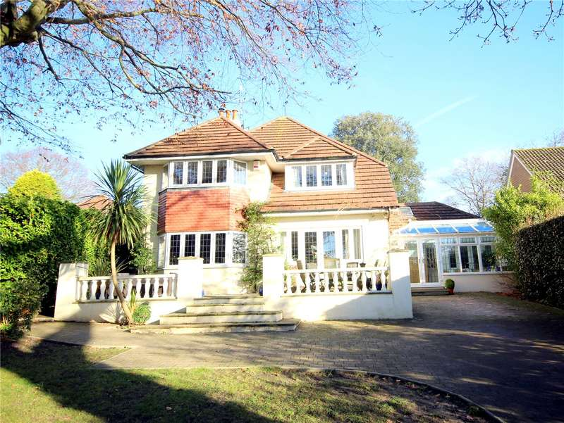 5 Bedrooms Detached House for sale in Springfield Road, Lower Parkstone, Poole, Dorset, BH14