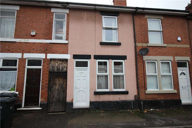 2 Bedrooms Terraced House for sale in Meynell Street, Derby, Derbyshire, DE23