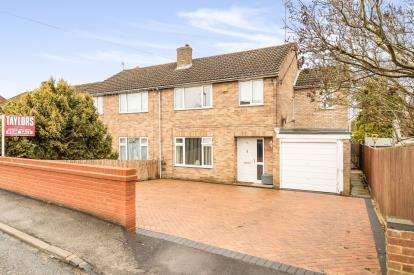 4 Bedrooms Semi Detached House for sale in Bucknell Road, Bicester, Oxfordshire, Oxon