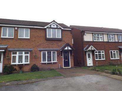 2 Bedrooms End Of Terrace House for sale in Burdock Close, Walsall, West Midlands