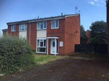 3 Bedrooms Semi Detached House for sale in Catisfield Crescent, Pendeford, Wolverhampton, West Midlands