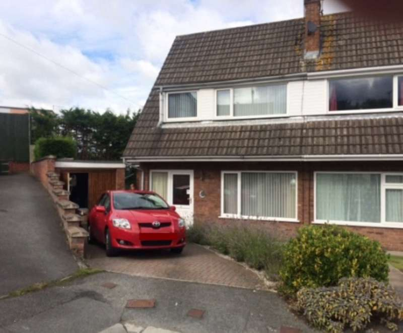 3 Bedrooms Semi Detached House for sale in Shire View, Mold, Flintshire. CH7 1DG