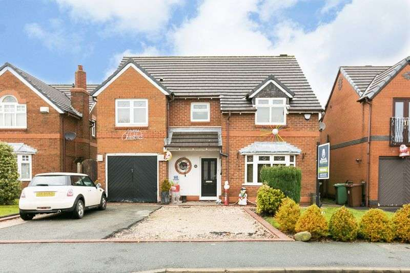 4 Bedrooms Detached House for sale in Langham Road, Standish, WN6 0TF