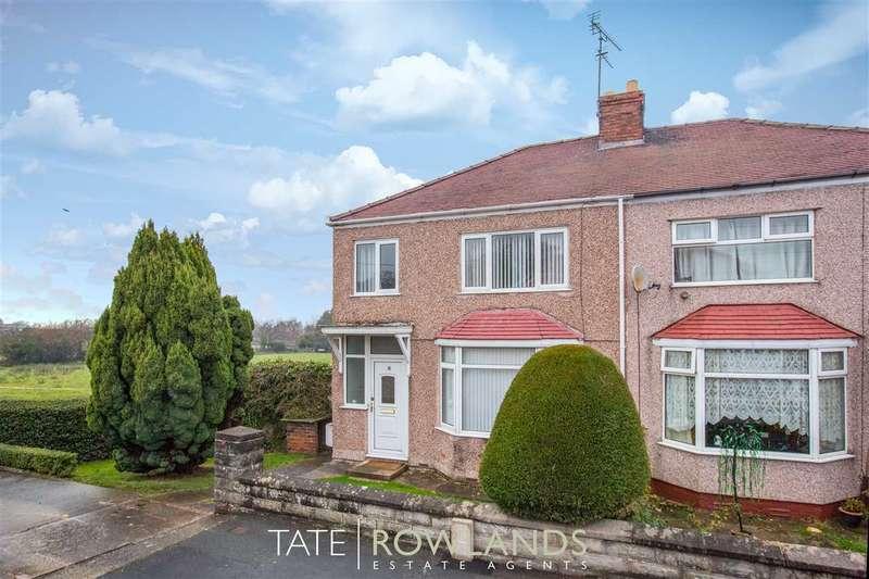 3 Bedrooms Semi Detached House for sale in Oak Grove, Bagillt