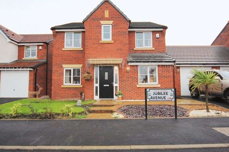 4 Bedrooms Detached House for sale in Jubilee Avenue, Broadgreen, Liverpool, L14