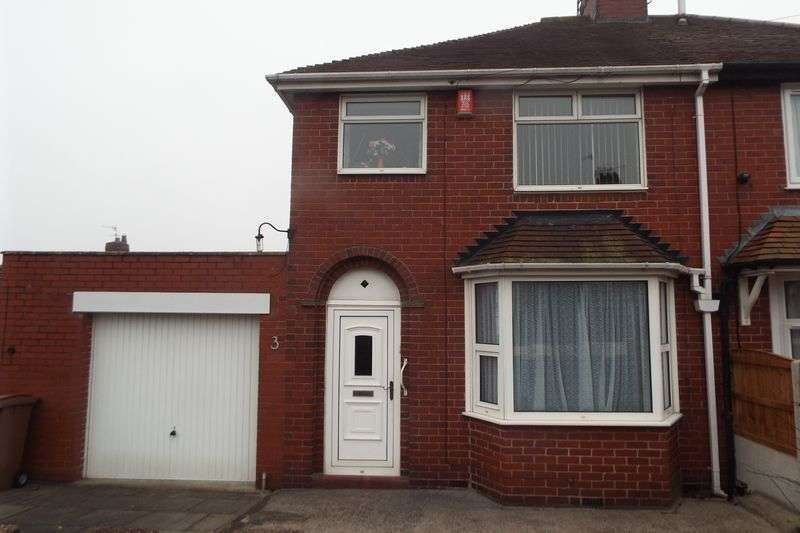 3 Bedrooms Semi Detached House for sale in Hollybush Road, Blurton, Stoke-On-Trent