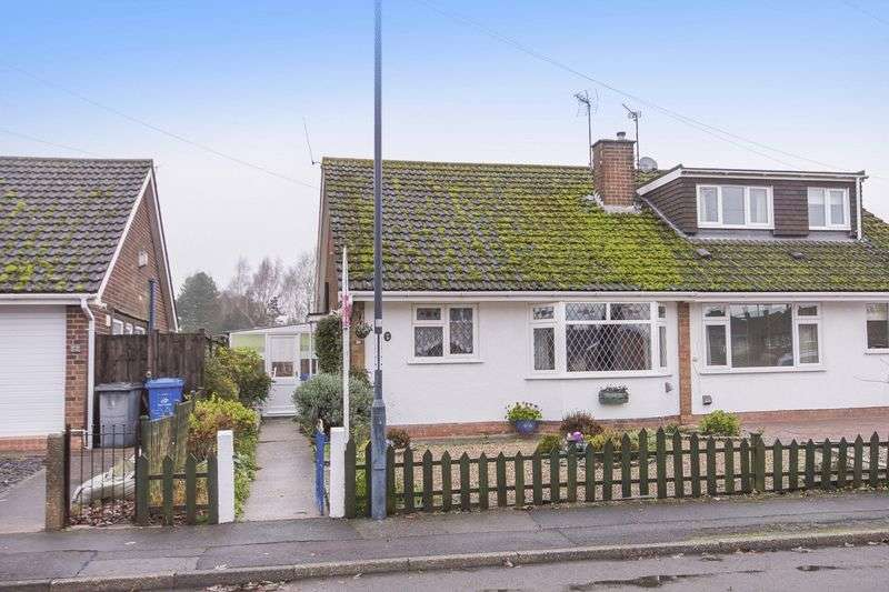2 Bedrooms Semi Detached Bungalow for sale in FENTON ROAD, MICKLEOVER