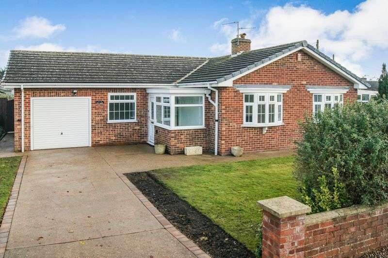 3 Bedrooms Detached Bungalow for sale in Elm Close, Long Bennington
