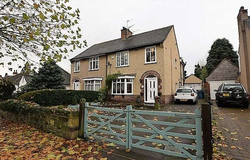 3 Bedrooms Semi Detached House for sale in Hawksley Avenue, Chesterfield