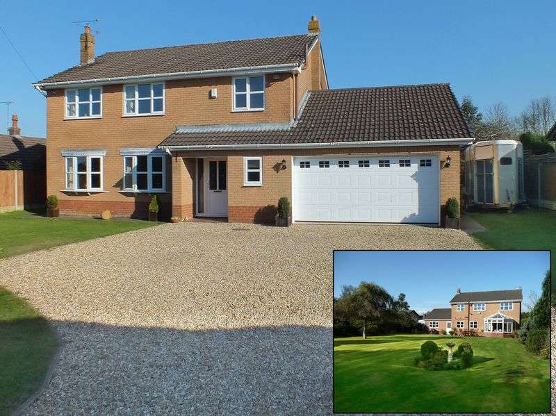 4 Bedrooms Detached House for sale in Ffordd Y Rhos, Treuddyn, Mold