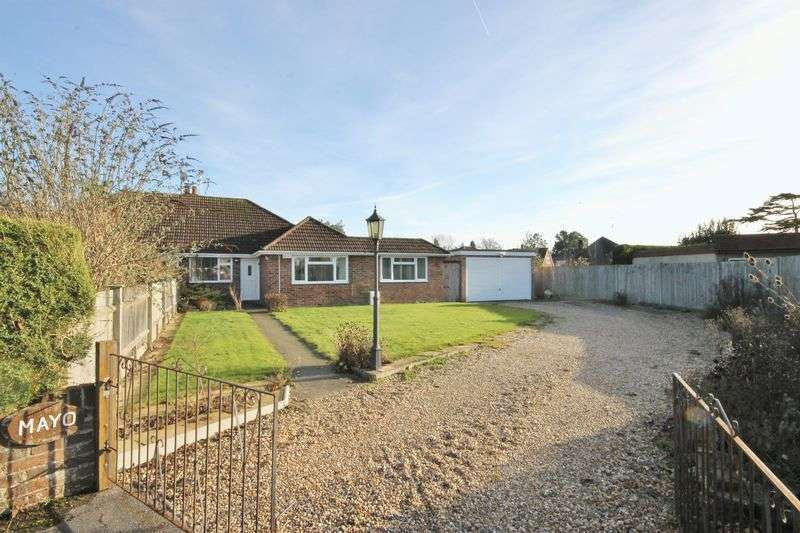3 Bedrooms Semi Detached Bungalow for sale in Windmill Drive, Burgess Hill, West Sussex.