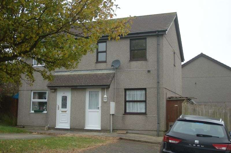 2 Bedrooms Semi Detached House for sale in Parc an Tansys, Camborne