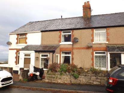 2 Bedrooms Terraced House for sale in Llysfaen Road, Old Colwyn, Colwyn Bay, Conwy, LL29