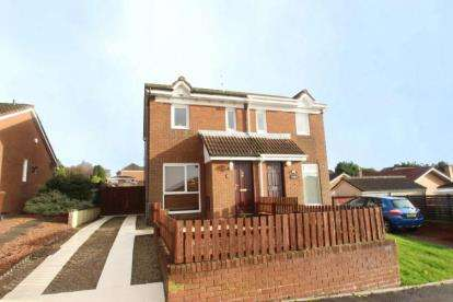 2 Bedrooms Semi Detached House for sale in Broompark Crescent, The Rushes Estate, Airdrie