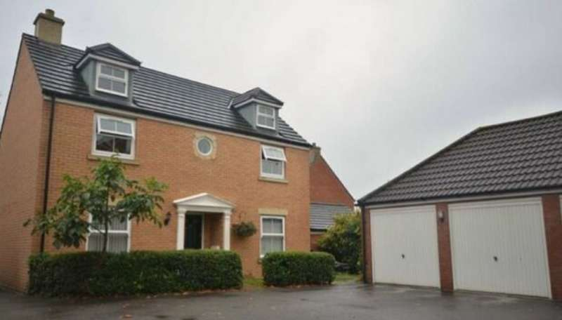 4 Bedrooms Detached House for sale in Bodenham Field, Gloucester, Gloucestershire, GL4