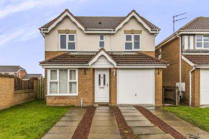 4 Bedrooms Detached House for sale in Diligence Way, Eaglescliffe, Stockton On Tees