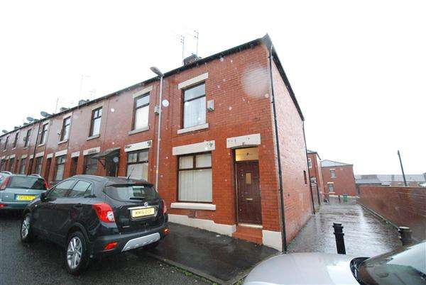 2 Bedrooms End Of Terrace House for sale in Sawyer Street, Rochdale
