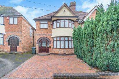 3 Bedrooms Semi Detached House for sale in Glaisdale Road, Hall Green, Birmingham, West Midlands