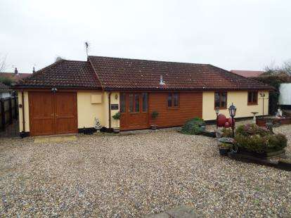 4 Bedrooms Bungalow for sale in Haughley, Stowmarket, Suffolk