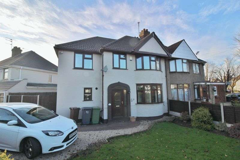 4 Bedrooms Semi Detached House for sale in Winchester Road, Fordhouses, Wolverhampton