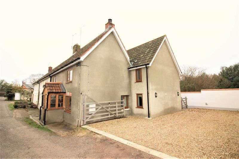 3 Bedrooms Semi Detached House for sale in Wreath Green, Tatworth