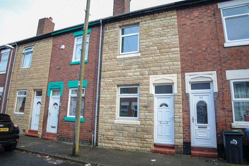 2 Bedrooms Terraced House for sale in Lennox Road, Normacot, Stoke-On-Trent, ST3 4JU