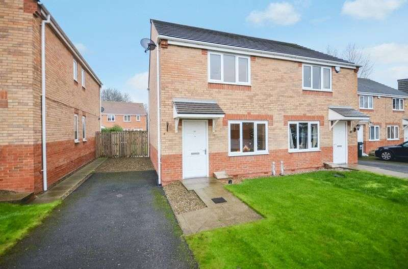 2 Bedrooms Semi Detached House for sale in 24 Oswin Gardens, Bradford, BD2 1DN