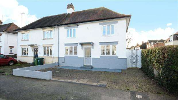 3 Bedrooms Semi Detached House for sale in Worple Avenue, Staines-upon-Thames, Surrey