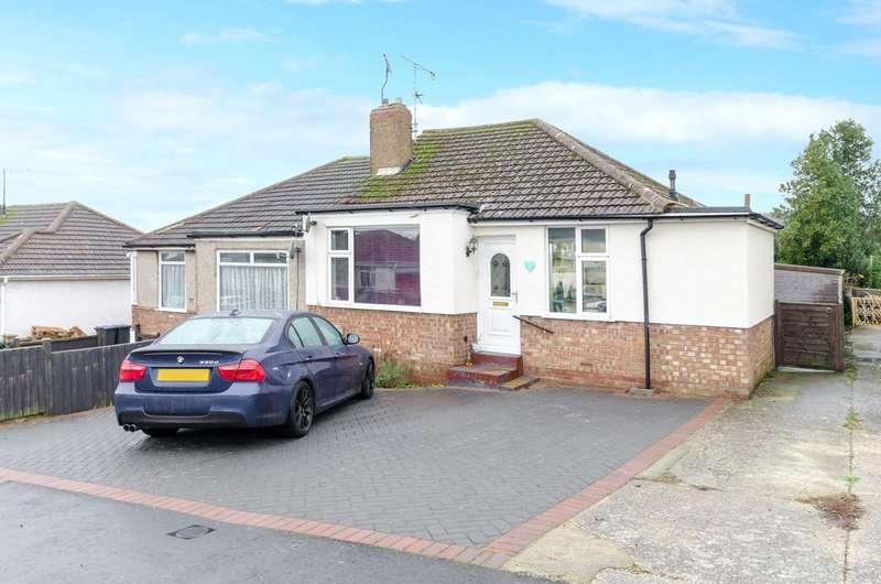 3 Bedrooms Semi Detached Bungalow for sale in Alandale Road, Sompting, West Sussex, BN15