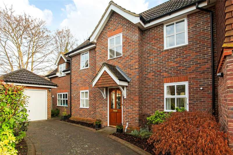 4 Bedrooms Semi Detached House for sale in Savill Mews, Englefield Green, Egham, Surrey, TW20