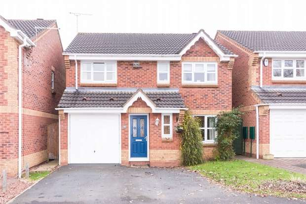 4 Bedrooms Detached House for sale in Sandiway, Barton under Needwood, Burton upon Trent, Staffordshire